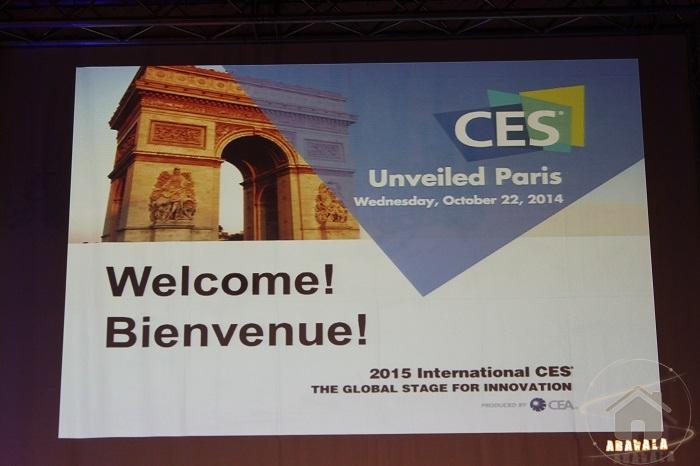 CES-Unveiled-paris-2014-bienvenue