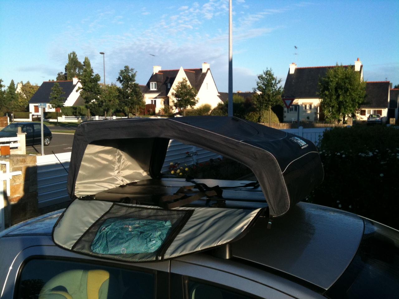trop de bagages en voiture pensez au coffre de toit. Black Bedroom Furniture Sets. Home Design Ideas