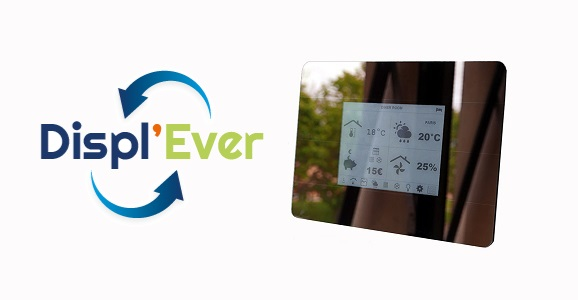 Displ'Ever: la Smart Home a son écran e-ink communicant et autonome