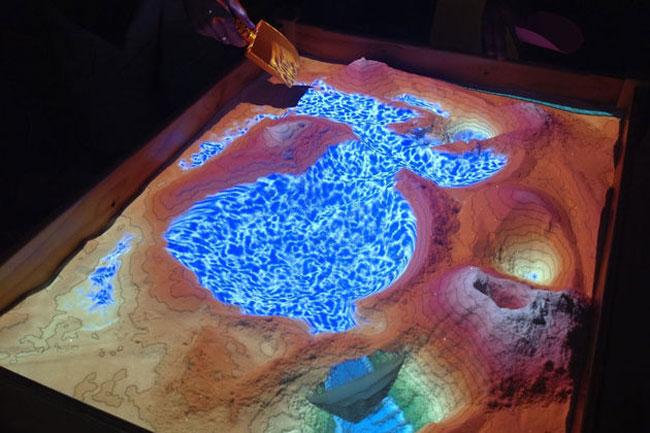 Kinect-Interactive-Sandbox