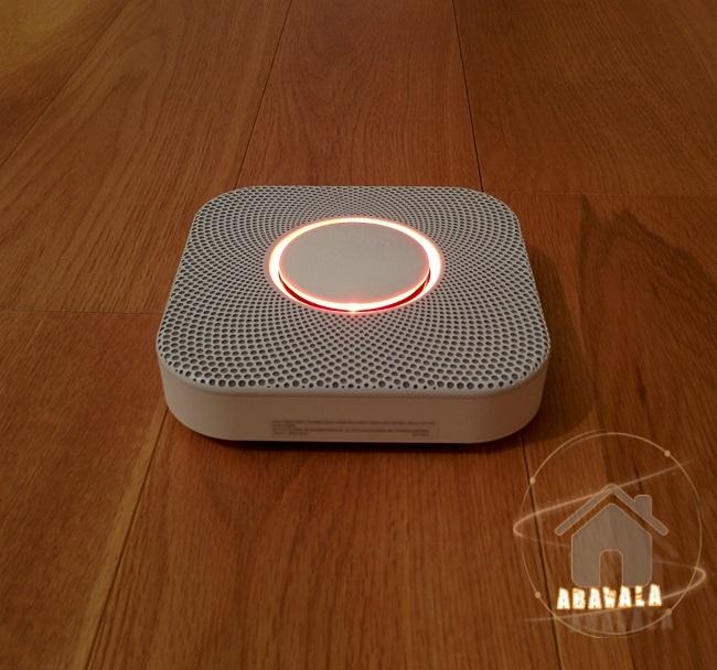 test du d tecteur de fum e connect nest protect abavala. Black Bedroom Furniture Sets. Home Design Ideas