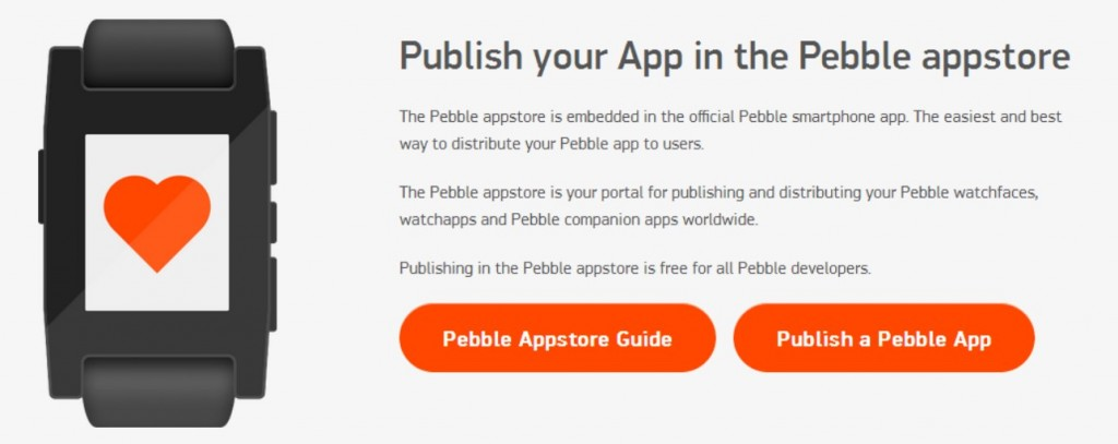 Pebble-App-store-publish