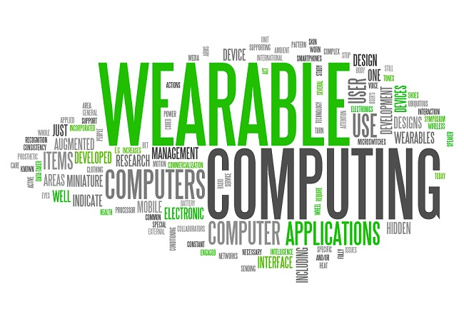"Word Cloud ""Wearable Computing"""