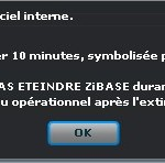 Zibase-systeme-maj-message