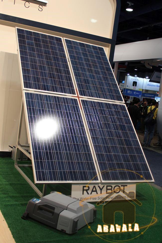ecovacs robotics pr sente raybot le robot laveur de panneaux solaires abavala. Black Bedroom Furniture Sets. Home Design Ideas