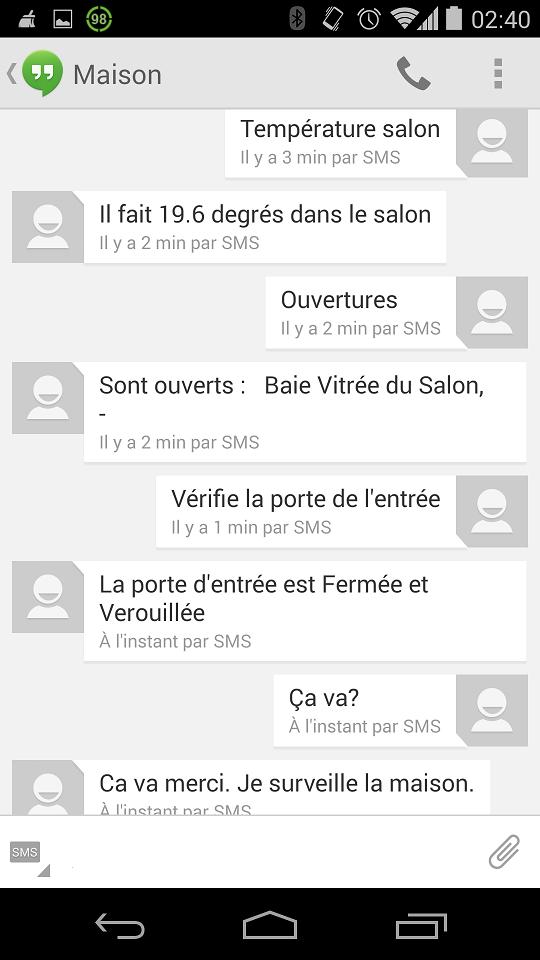 eedomus-sms