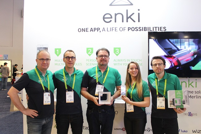 Enki La Smart Home En Qui Leroy Merlin Croit