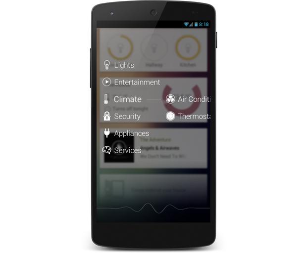 homey-smartphone