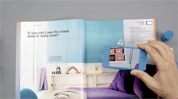 catalogue ikea 2013 un livre en r alit augment e. Black Bedroom Furniture Sets. Home Design Ideas
