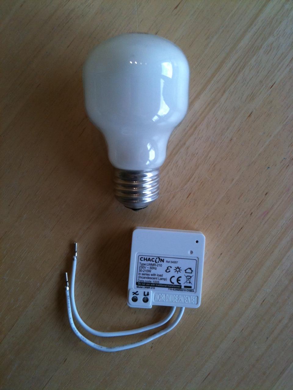 Luminaire wifi