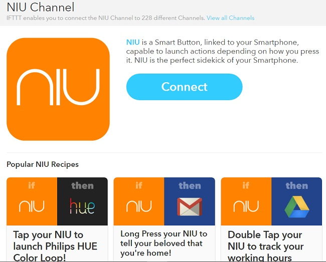 niu-ifttt-channel