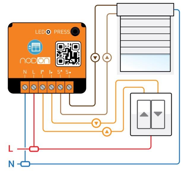 nodon lance son module enocean pour les volets roulants et. Black Bedroom Furniture Sets. Home Design Ideas