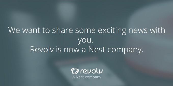 revolv rejoint nest le bras arm domotique de google. Black Bedroom Furniture Sets. Home Design Ideas