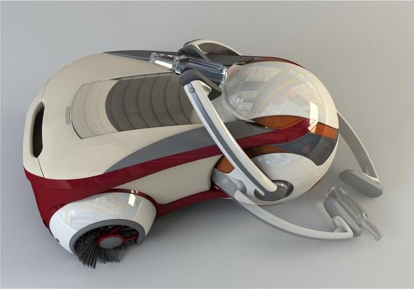 Scarab Robot Nettoyeur De Nos Villes