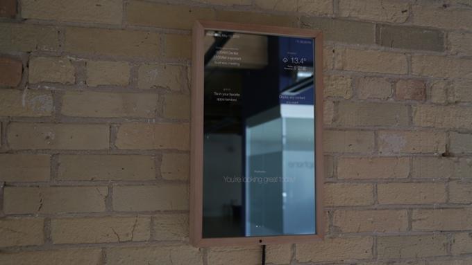 smart mirror demo