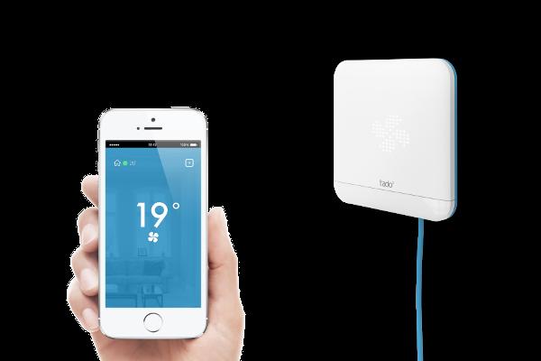 Tado cooling projet kickstarter r ussi et compatible apple homekit - Objet domotique confort ...